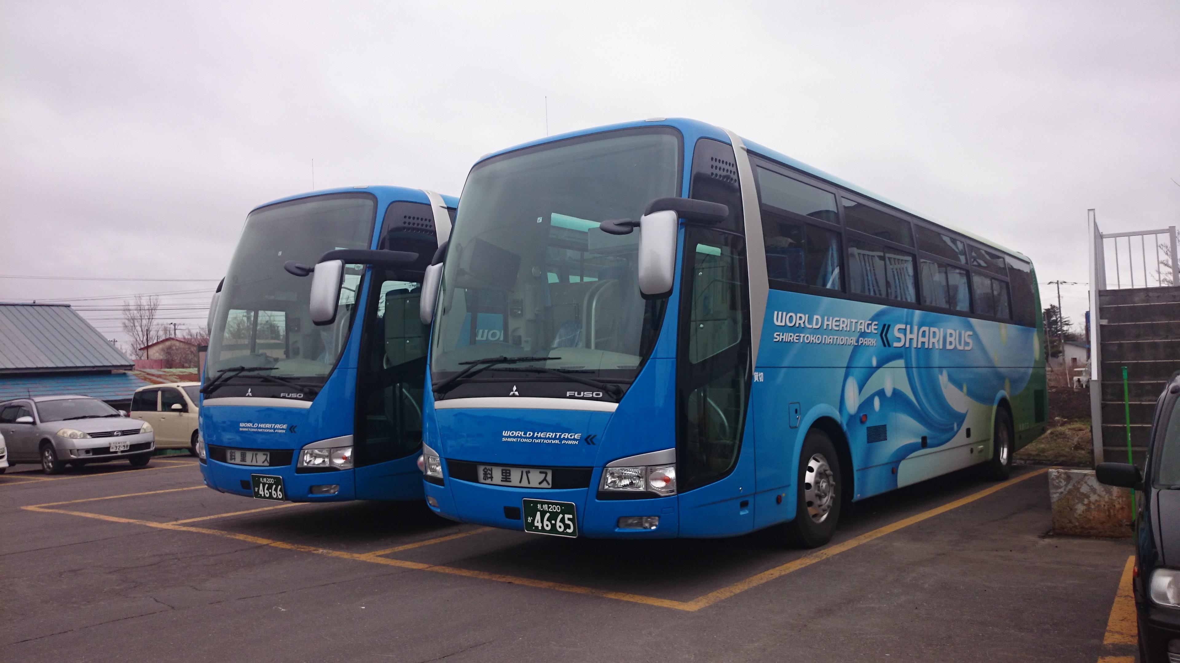 貸切バス新車導入